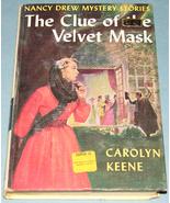 Nancy Drew #30 Clue of Velvet Mask Orig Text PC - $7.99