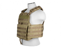 NcSTAR Airsoft Tactical Plate Carrier Vest TAN ... - $49.99