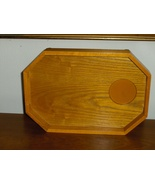 Oak Arm Rest Tray for Couch or Chair Craft Tray... - $21.97