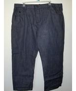 Mens Rocawear Black Jeans Size 50 X 32 Length 6... - $27.97