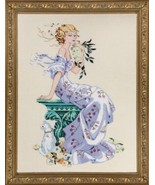FULL LINEN KIT Florentina MD138 cross stitch Mi... - $86.48