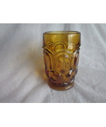 Dark Amber Moon and Stars Glass Tumbler  Smith ... - $14.99