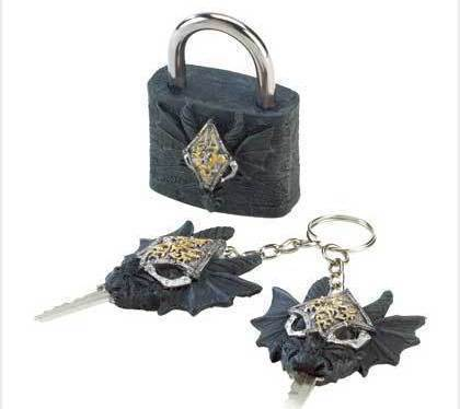 Image 1 of Dragon Lock And Keys