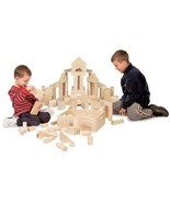 Wooden Building Block Set 60 Pieces Kids Standa... - $72.25