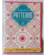 Designer Series Patterns to Color Kappa Books U... - $7.99