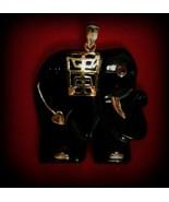 SUPER SALE-14K GOLD Ganesha-Lucky Elephant Remo... - $249.00