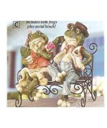 Frog First Date Sculpture Figurine - $19.95