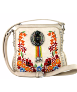 Montana West Embroidered Floral Cross Body Mess... - $47.99
