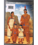 Butterick 4171 Native American Costume - Men an... - $5.00