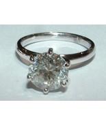 2 quilates anillo de compromiso solitario VS1 D... - $7,995.77
