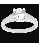 anillo de compromiso de diamante solitario 1,01... - $2,068.53