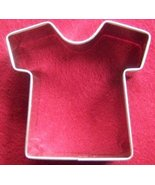 Football jersey or Tee shirt cookie cutter - $5.00