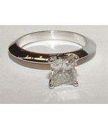 1.75 ct. F VS1 diamante solitario anillo de com... - $5,599.77