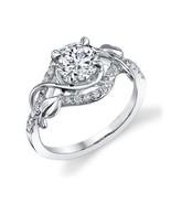 anillo de compromiso de diamantes redondos 1.76... - $4,037.72