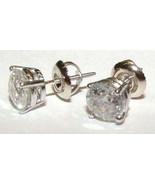 2.20 ct. pendientes de diamantes redondos par d... - $3,656.77
