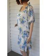 Xhilaration Retro Dress Spring Summer Floral Lo... - $9.99