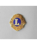 LIONS CLUB INTERNATIONAL BLUE AND GOLD COLORED ... - $4.70
