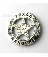US ARMY RANGER TEXAS RANGERS SILVER COLORED LAP... - $4.70