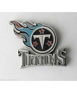 TENNESSEE TITANS NFL FOOTBALL LOGO LAPEL PIN BA... - $5.88
