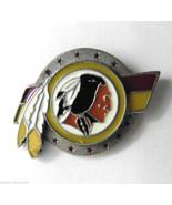 WASHINGTON REDSKINS NFL FOOTBALL LOGO LAPEL PIN - $6.35