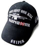 EMBROIDERED US ARMY ONE SHOT ONE KILL SHARPSHOO... - $10.81
