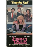Straight Talk VHS Dolly Parton James Woods - $1.99