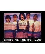 BMTH Bring Me The Horizon Group Shot 29X43 Clot... - $9.58