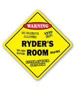 RYDER'S ROOM SIGN kids bedroom decor door child... - $8.89