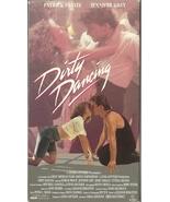 Dirty Dancing VHS Patrick Swayze Jennifer Grey ... - $1.99