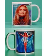 Jennifer Lopez 2 Photo Designer Collectible Mug - $14.95