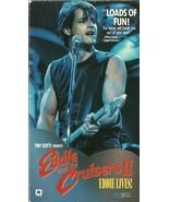 Eddie And The Cruisers II Eddie Lives VHS Micha... - $1.99