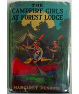 The Campfire Girls At Forest Lodge Margaret Pen... - $15.00