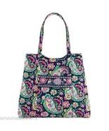 Vera Bradley Curvy Tote Bag Petal Paisley - $74.95