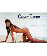 Carmen Electra Pinup Poster - $6.53