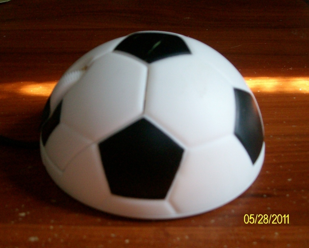 USB 3D Football Soccer Optical Mouse Mice for PC or Laptop