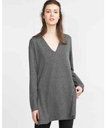 Zara Women's Top With Slits Gray Size S NWT  - £15.53 GBP