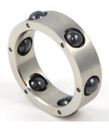 SSR1817 - Black Hematite Spinning Balls Stainle... - $13.99