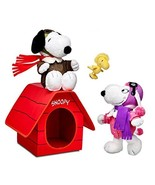 Build a Bear Snoopy Fifi Woodstock Doghouse Fly... - $689.95