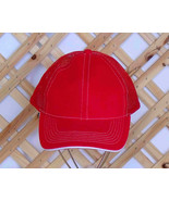 Mesh Trucker style Baseball Hat TB1 Red Adjusta... - $5.89