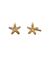 Tiny 14 Karat Gold Plated Solid Sterling Silver... - $13.87