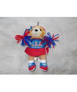Good Stuff Cheerleader Bear U.S.A. God Bless Am... - $13.86