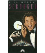 Scrooged VHS Bill Murray Karen Allen John Forsy... - $2.99