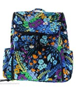 Vera Bradley Midnight Blues Double Zip Backpack - $99.95