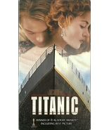 Titanic VHS Leonardo DiCaprio Kate Winslet 2 Ta... - $1.99