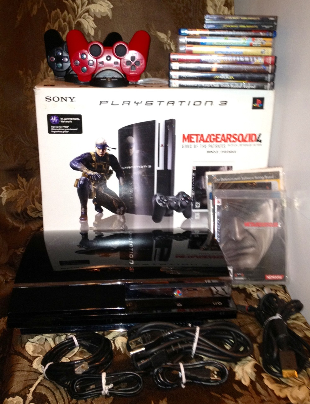 Playstation 3 (80GB) Backwards System Bundle(RARE)