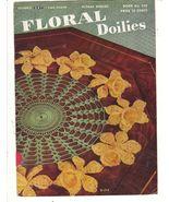 Floral Doilies Crochet Patterns Vintage Book La... - $4.99