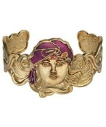 Art Nouveau Girl with Turban Bracelet - $15.00