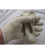 gloves knit  New White Knit Gloves Soft Drive W... - $7.95