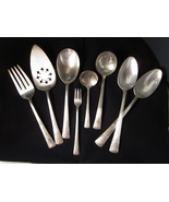 Embassy Bouquet 1939 Silverplate, 7 Serving Pieces Flatware International Silver