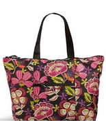 Vera Bradley Collapsible Tote in a Pouch Bag Pi... - $49.95